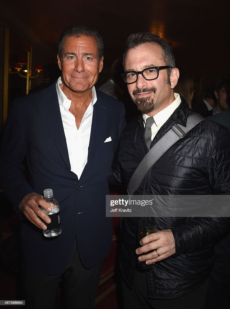Chairman and CEO Richard Plepler and filmmaker Andrew Jarecki attend the after party for HBO's 'Game of Thrones' Season 5 at San Francisco City Hall...