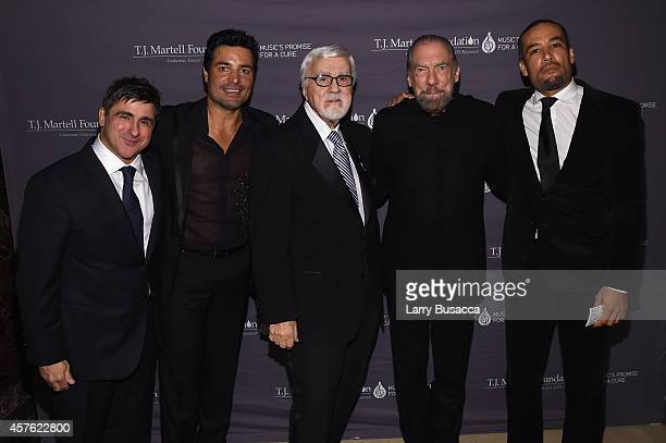 Chairman and CEO Sony Music Entertainment Latin Iberia Afo Verde singer Chayanne TJ Martell Foundation founder and chairman Tony Martell Chairman and...