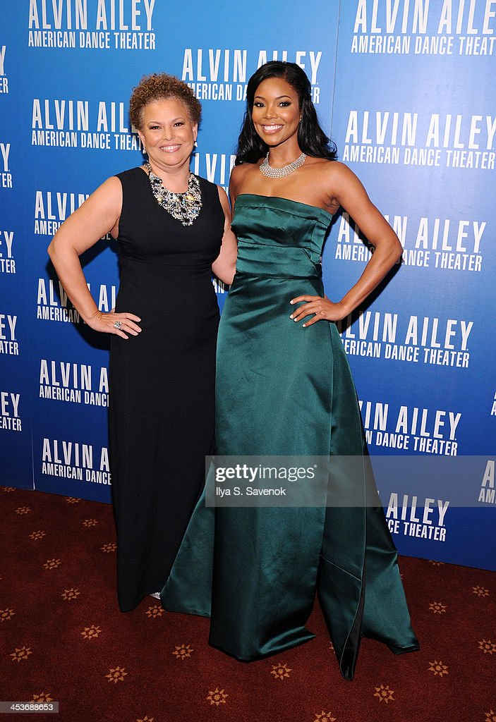 BET Chairman and Chief Executive Officer Debra Lee (L) and actress <a gi-track='captionPersonalityLinkClicked' href=/galleries/search?phrase=Gabrielle+Union&family=editorial&specificpeople=202066 ng-click='$event.stopPropagation()'>Gabrielle Union</a> attend the 2013 Alvin Ailey American Dance Theater's opening night benefit gala at New York City Center on December 4, 2013 in New York City.