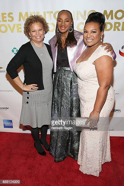 Chairman and Chief Executive Officer of BET Debra L Lee National CARES Mentoring Movement Executive Director Chivonne J Williams and Founder of the...