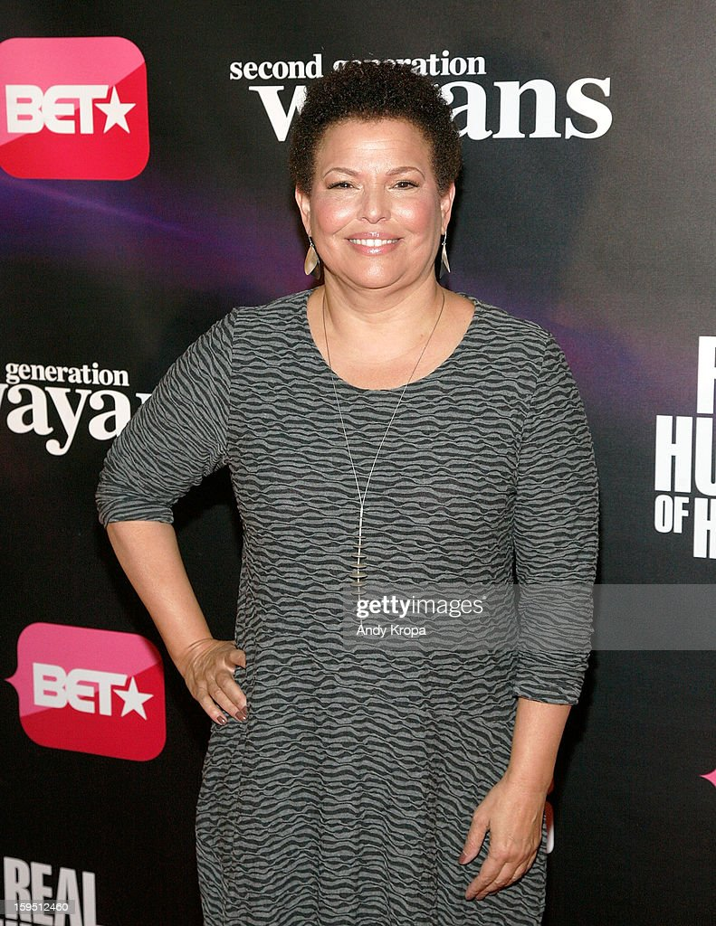 Chairman and Chief Executive Officer of BET Networks Debra L. Lee attends the 'Real Husbands Of Hollywood' & 'Second Generation Wayans' screening at SVA Theatre on January 14, 2013 in New York City.