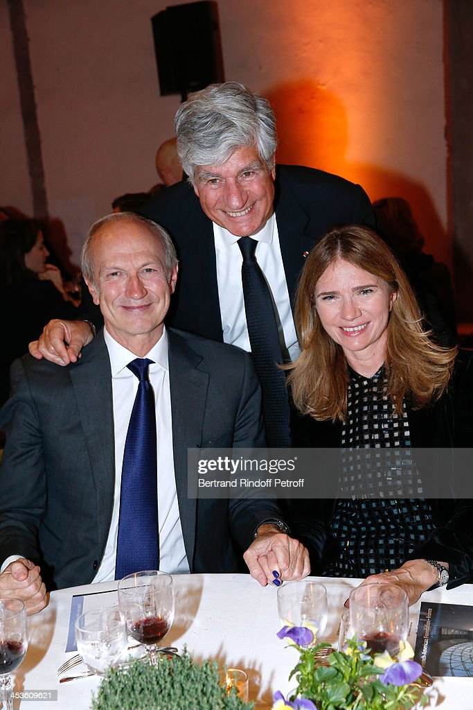 'French American Foundation' : Dinner At Grand Palais In Paris