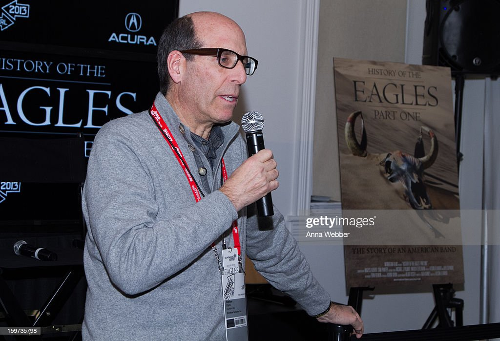 Chairman and Chief Executive Officer of Showtime Networks Inc. at 'History of the Eagles' Documentary Announcement - 2013 Park City on January 19, 2013 in Park City, Utah.