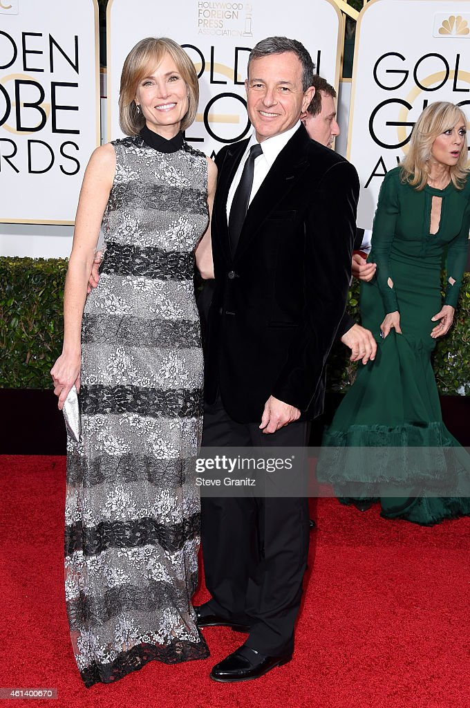 Chairman and Chief Executive Officer of The Walt Disney Company and Willow Bay attend the 72nd Annual Golden Globe Awards at The Beverly Hilton Hotel...