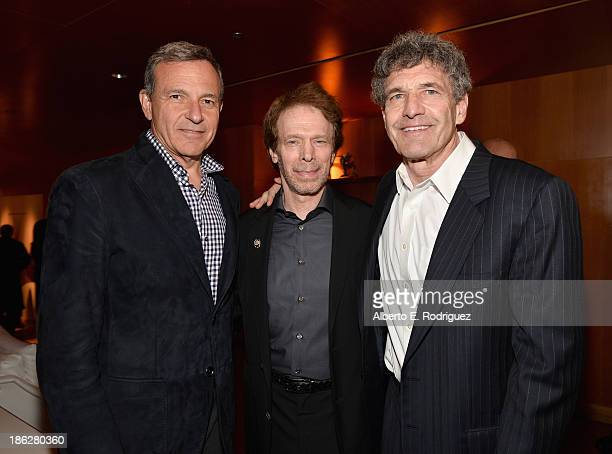 Chairman and Chief Executive Officer of the Walt Disney Company Bob Iger producer Jerry Bruckheimer and Chairman of The Walt Disney Studios Alan Horn...