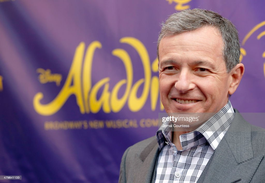 Chairman and Chief Executive Officer of The Walt Disney Company <a gi-track='captionPersonalityLinkClicked' href=/galleries/search?phrase=Bob+Iger&family=editorial&specificpeople=171211 ng-click='$event.stopPropagation()'>Bob Iger</a> attends the 'Aladdin' On Broadway Opening Night at New Amsterdam Theatre on March 20, 2014 in New York City.