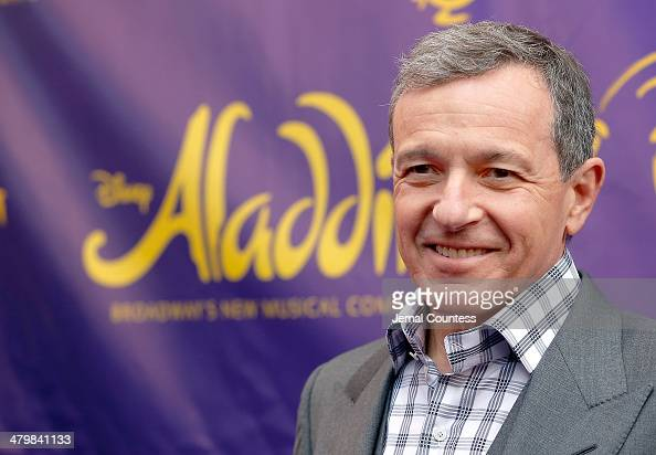 Chairman and Chief Executive Officer of The Walt Disney Company Bob Iger attends the 'Aladdin' On Broadway Opening Night at New Amsterdam Theatre on...