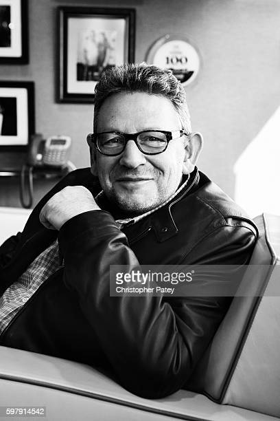 Chairman and chief executive officer of Universal Music Group Lucian Grainge is photographed for Billboard Magazine on February 11 2016 in Los...