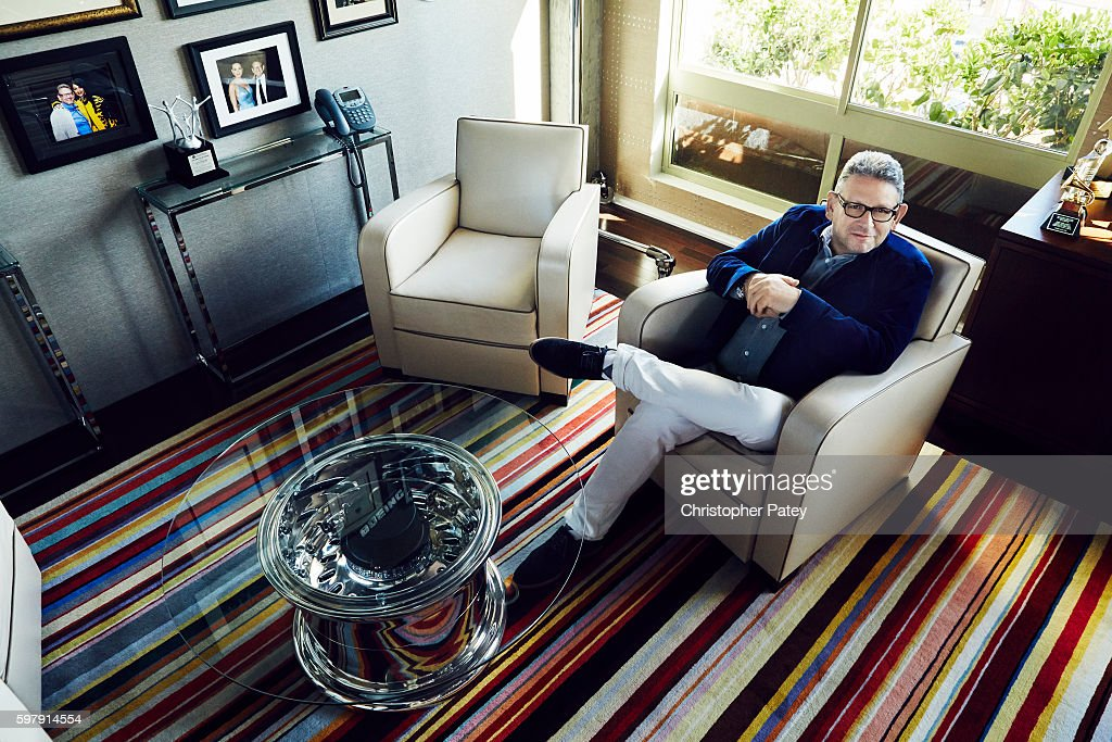 Chairman and chief executive officer of Universal Music Group Lucian Grainge is photographed for Billboard Magazine on February 11, 2016 in Los Angeles, California. Published Image.