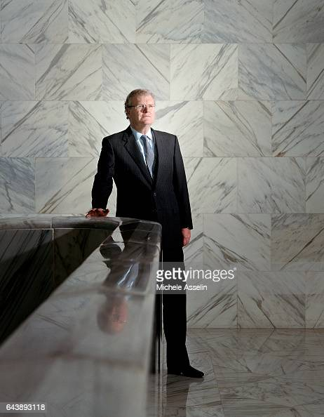 Chairman and Chief Executive Officer Sony Corporation of America Howard Stringer is photographed on December 1 2004 in New York City