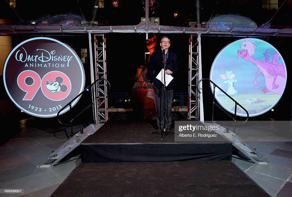 Chairman and Chief Executive Officer, The Walt Disney Company Bob Iger speaks onstage during the 90 Years of Disney Animation celebration at Walt Disney Studios on December 10, 2013 in Burbank, California.