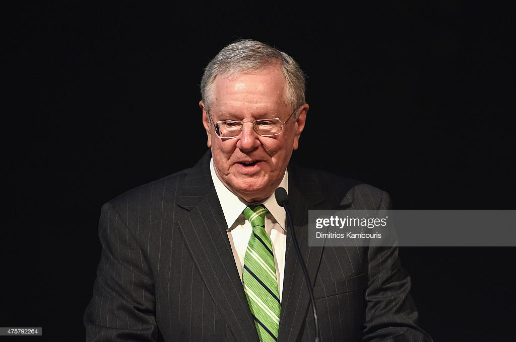Chairman and Editor-in-Chief of Forbes Media Steve Forbes speaks during the Forbes' 2015 Philanthropy Summit Awards Dinner on June 3, 2015 in New York City.