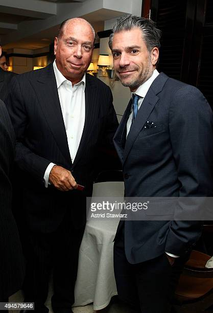 Chairman and Founder of The Private Journey Magazine Jim Kerwin and talent agent Christian Carino attend DuJour's Jason Binn and Dom Perignons Trent...