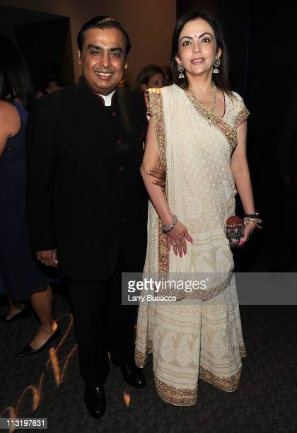 Chairman and Managing Director of Reliance Industries Mukesh Ambani attends the TIME 100 Gala TIME'S 100 Most Influential People In The World at...