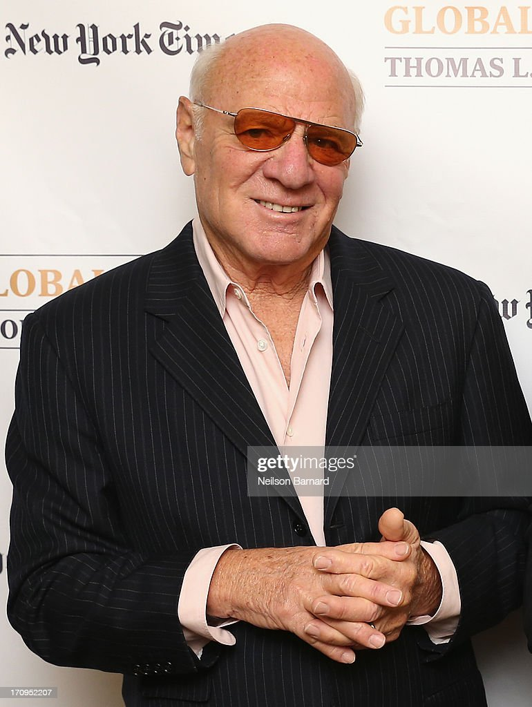 Chairman and Senior Executive, IAC and Expedia, Barry Diller attends The New York Times Global Forum with Thomas L. Friedman at the Metreon on June 20, 2013 in San Francisco, California.