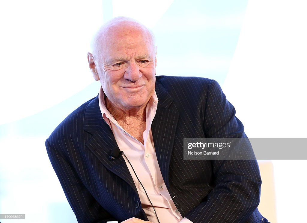 Chairman and Senior Executive, IAC and Expedia, Barry Diller speaks during the C.E.O. Conversation: Making New Media at The New York Times Global Forum with Thomas L. Friedman at the Metreon on June 20, 2013 in San Francisco, California.