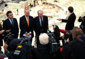 Chairman and Vice Chairman of the Joint Congressional Committee on Inaugural Ceremonies US Senators Charles Schumer and Lamar Alexander and...
