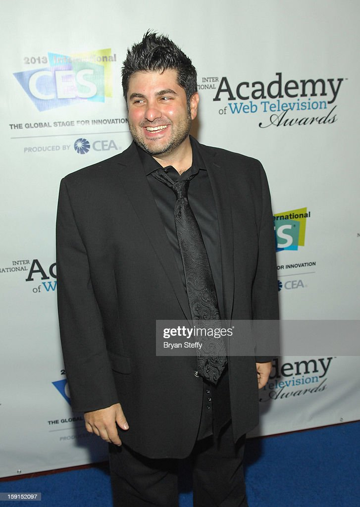 Chairman and VP Group Director Brand Content at Third Act Paul Kontonis arrives at the IAWTV Awards at the CES 2013 Show at the Palazzo Theater at the Palazzo Resort Hotel/Casino on January 8, 2013 in Las Vegas, Nevada.