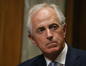 Chairman Bob Corker listens to testimony during a Senate Foreign Relations Committee hearing on Capitol Hill June 28 2016 in Washington DC The...