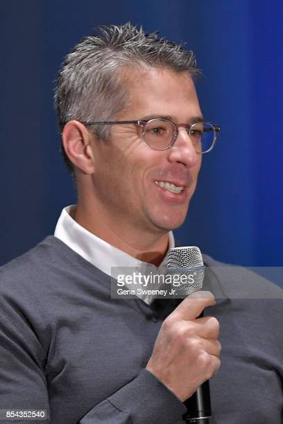 Chairman Casey Wasserman addresses the media during the Team USA Media Summit ahead of the PyeongChang 2018 Olympic Winter Games on September 26 2017...
