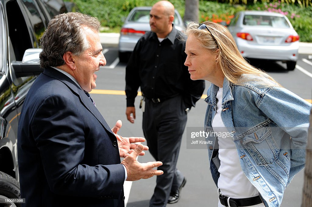 Chairman CEO Fox Film Entertainment Jim Gianopulos and actress Suzy Amis plant first tree in North America symbolizing the one million tree...