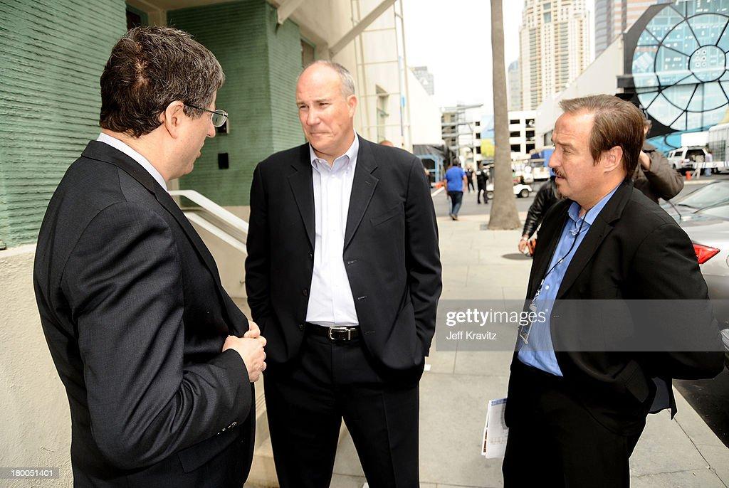 Chairman CEO Fox Film Entertainment Tom Rothman President Worldwide Twentieth Century Fox Home Entertainment Mike Dunn and EVP GM North America...