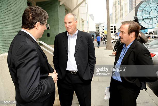 Chairman CEO Fox Film Entertainment Tom Rothman President Worldwide Twentieth Century Fox Home Entertainment Mike Dunn and EVP GM North America...