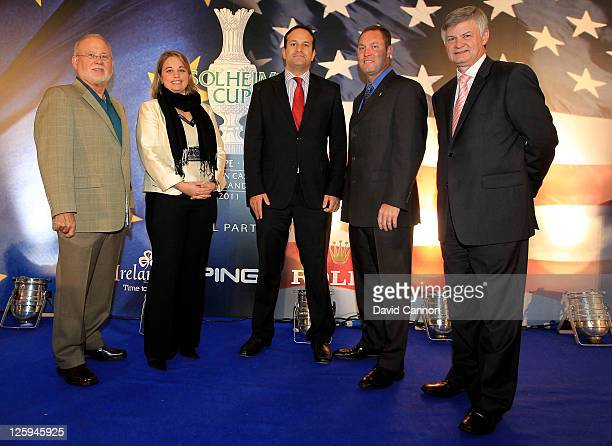 Chairman CEO of Ping John Solheim Executive Director of the Ladies European Tour Alexandra Armas The Irish Minister for Transport Tourism and Sport...