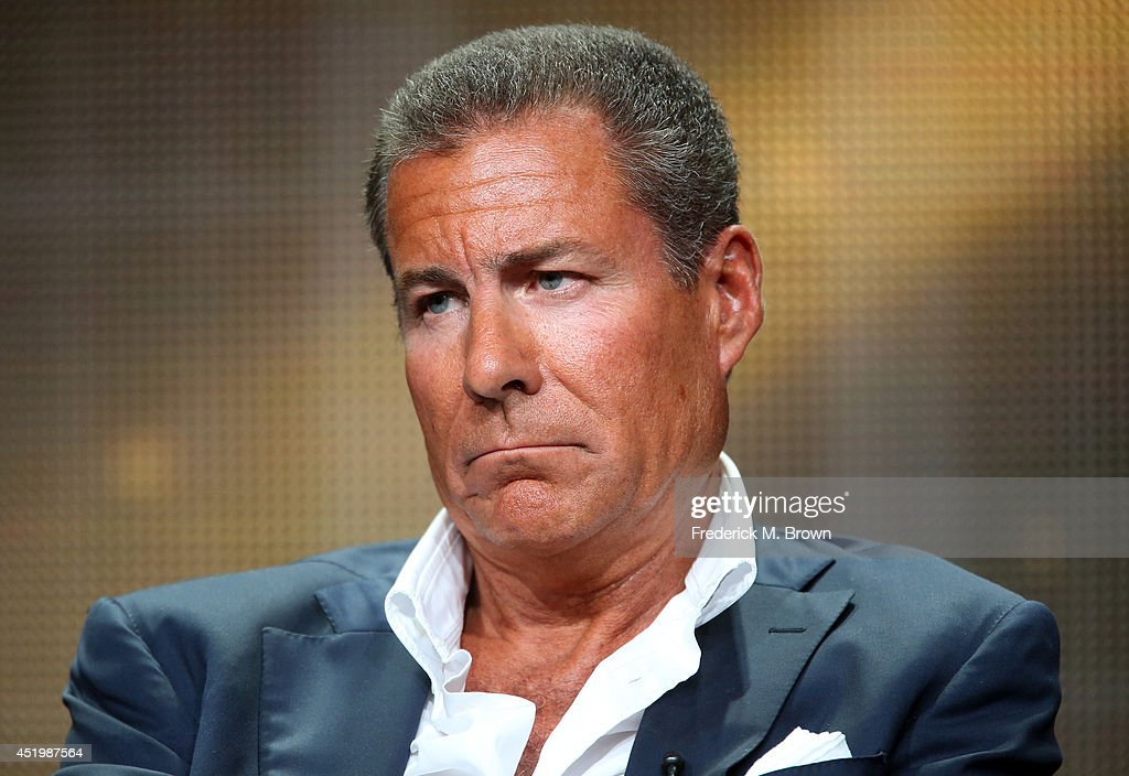 Chairman CEO Richard Plepler speaks onstage at the Executive Session panel during the HBO portion of the 2014 Summer Television Critics Association...