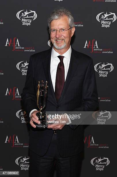 Chairman Chief Executive Officer Brooks Brothers Group Inc Claudio Del Vecchio attends the 2015 AAFA American Image Awards on April 27 2015 in New...