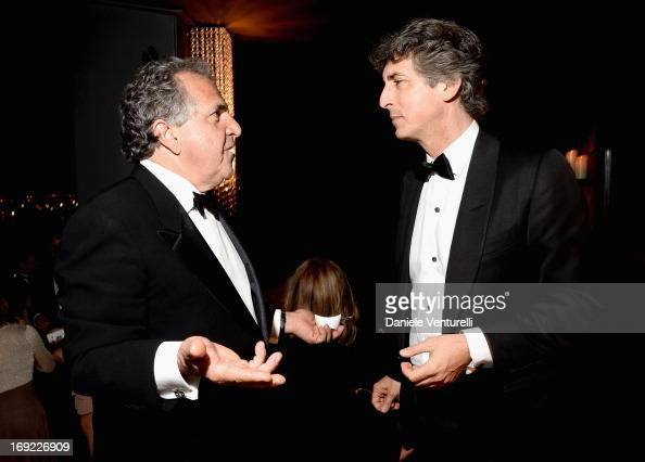 Chairman Chief Executive Officer of Fox Filmed Entertainment Jim Gianopulos and actor Alexander Payne attend the 'Cleopatra' cocktail hosted by...