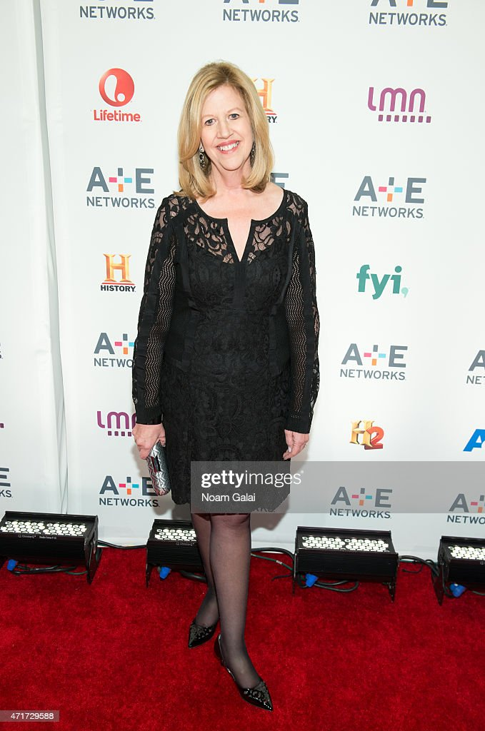 Chairman emeritus of AE Abbe Raven attends the 2015 AE Network Upfront at Park Avenue Armory on April 30 2015 in New York City