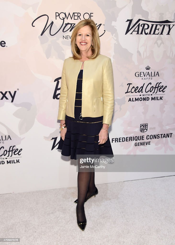 Chairman emeritus of AE Networks Abbe Raven attends Variety's Power of Women New York presented by Lifetime at Cipriani 42nd Street on April 24 2015...