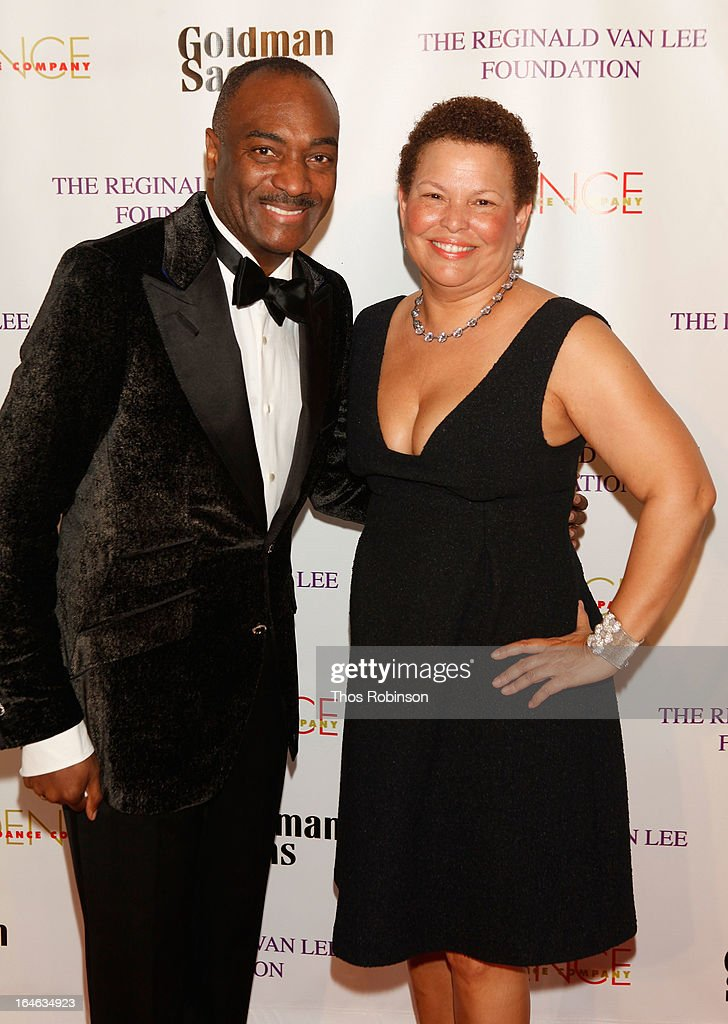 Chairman Emeritus, of the board of the Evidence Dance Company and Executive Vice President at Booz Allen Hamilton Reginald Van Lee and Chairman and CEO of BET Debra Lee attend the Torch Ball hosted by Evidence, A Dance Company at The Plaza Hotel on March 25, 2013 in New York City.