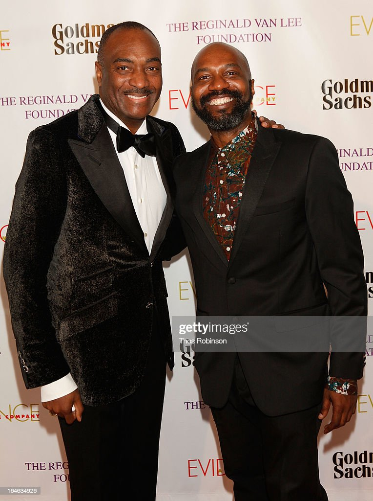 Chairman Emeritus, of the board of the Evidence Dance Company and Executive Vice President at Booz Allen Hamilton Reginald Van Lee and Artistic Director Ronald K Brown attend the Torch Ball hosted by Evidence, A Dance Company at The Plaza Hotel on March 25, 2013 in New York City.