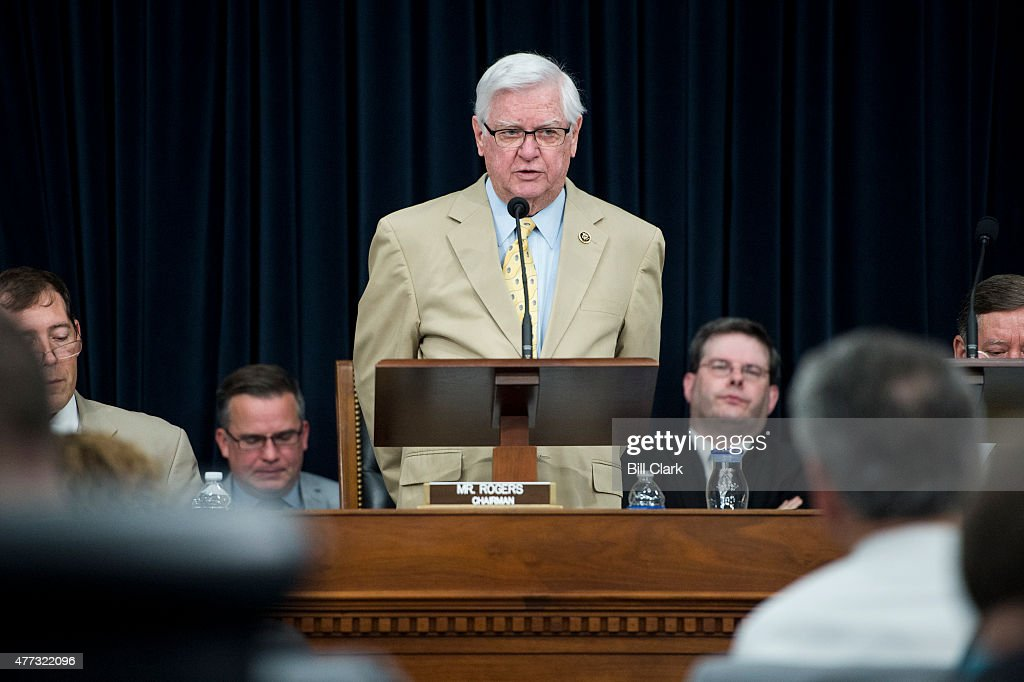 Chairman Hal Rogers RKy speaks during the House Appropriations Committee markup of the FY2016 Interior and Environment Appropriations bill on Tuesday...