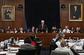 Chairman Hal Rogers speaks during a House Appropriations Committee markup on Capitol Hill May 13 2015 in Washington DC The full committee is in...