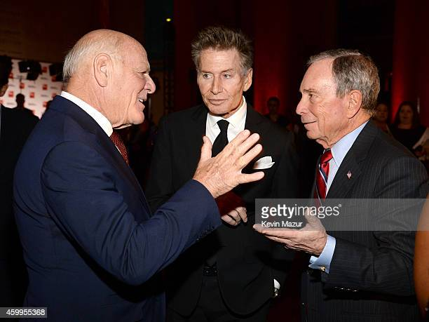 Chairman IAC/InterActiveCorp and Expedia Inc Barry Diller Calvin Klein and Michael Bloomberg attend Bloomberg Businessweek's 85th Anniversary...