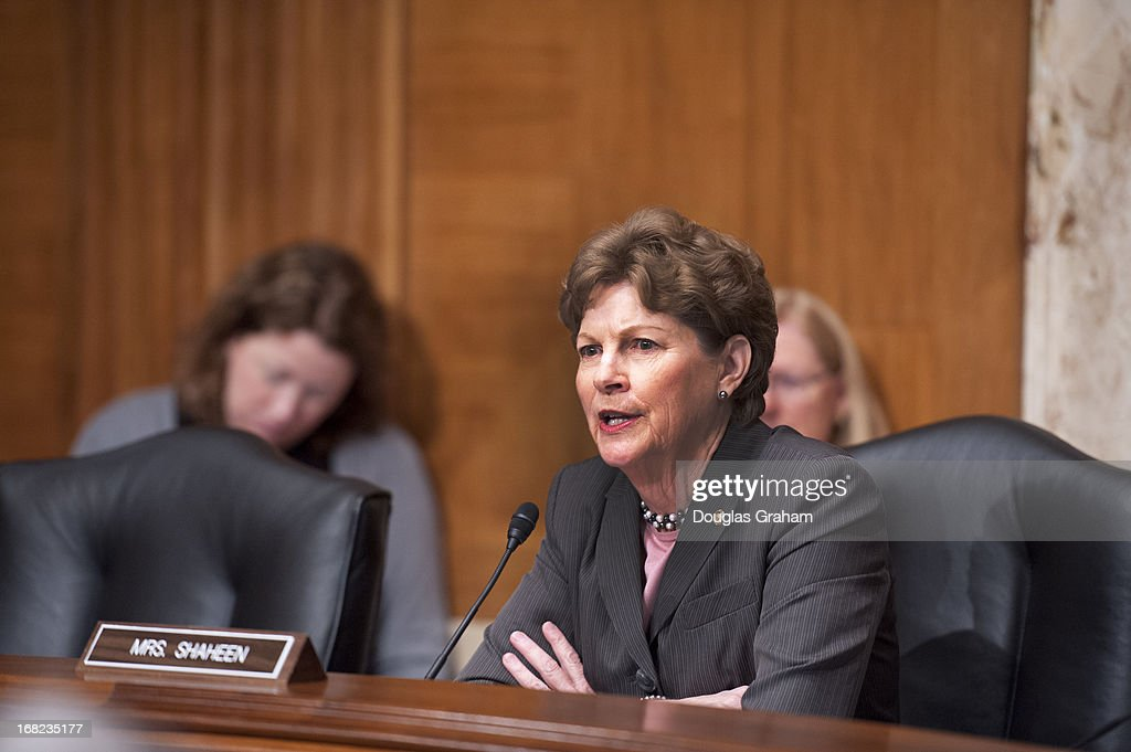Chairman Jeanne Shaheen, D-NH., during the Legislative Branch Subcommittee hearing on the FY2014 Budget Request for the Library of Congress and the Open World Leadership Center on May 7, 2013.