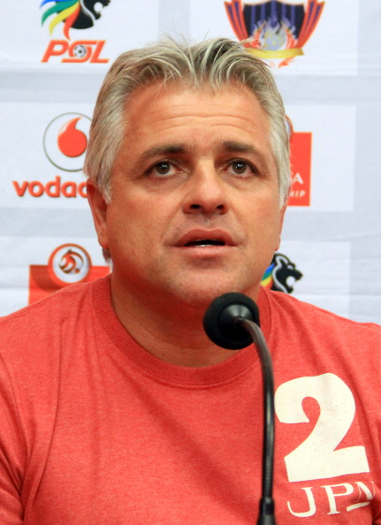 Ajax Cape Town press conference : News Photo