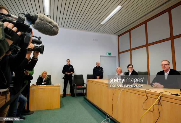 Chairman judge Volker Uhlenbrock poses for the media prior to the sentence of judgment on March 21 2017 at the regional court in Essen western...