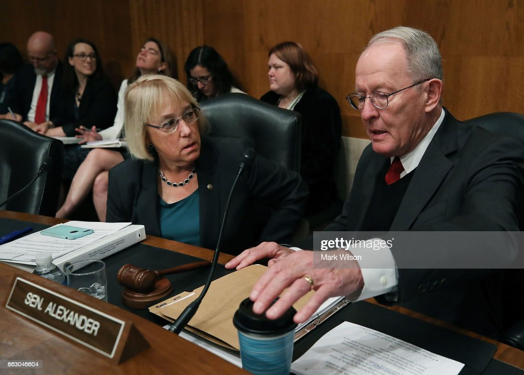 Lamar Alexander And Patty Murray Lead Senate Hearing On Health Care Costs