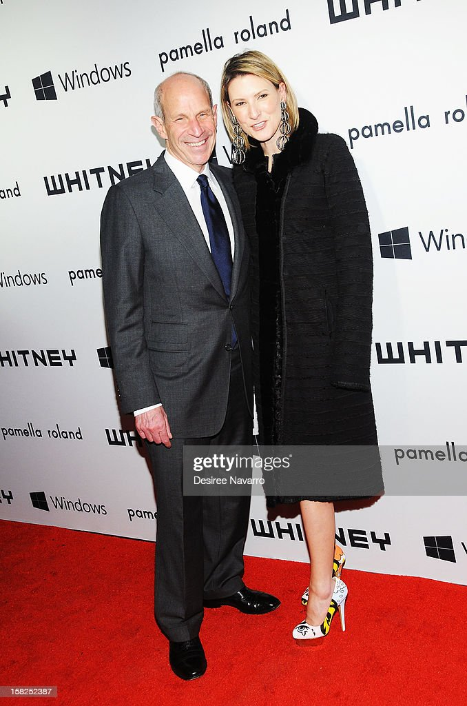 Chairman, Loews corporation <a gi-track='captionPersonalityLinkClicked' href=/galleries/search?phrase=Jonathan+Tisch&family=editorial&specificpeople=672191 ng-click='$event.stopPropagation()'>Jonathan Tisch</a> and Lizzie Tisch attend the 2012 Whitney Museum Of American Art Studio Party at The Whitney Museum of American Art on December 11, 2012 in New York City.