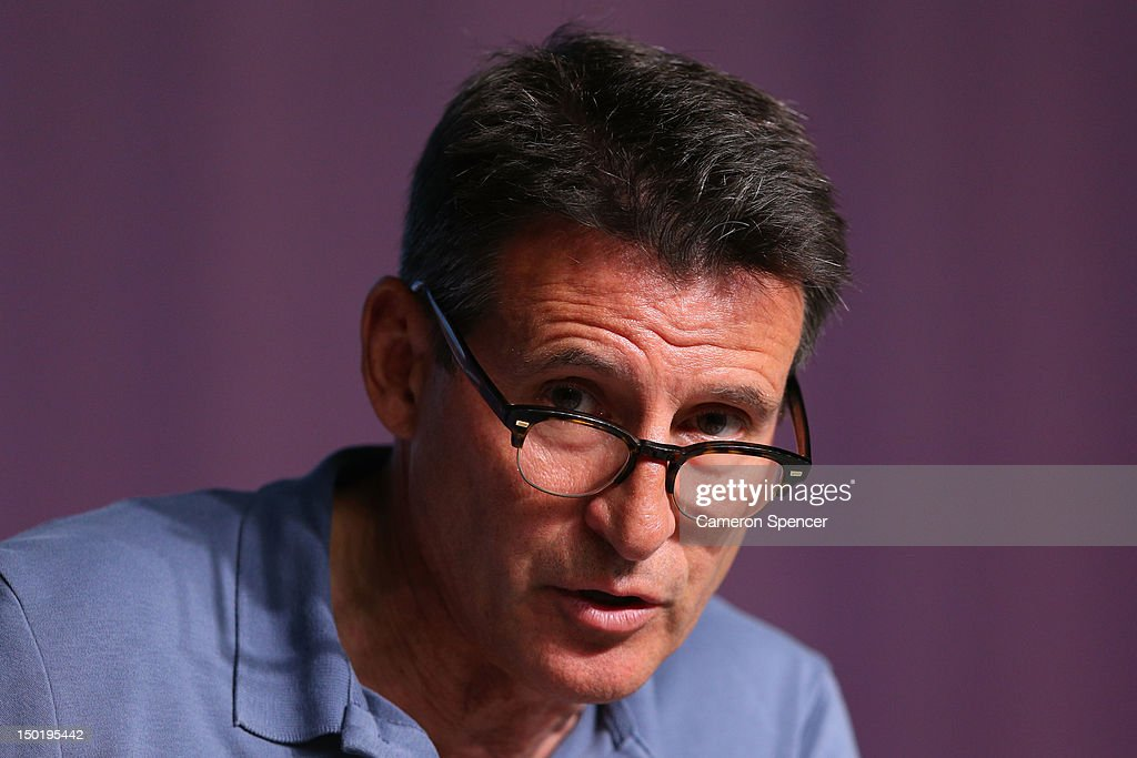LOCOG chairman Lord Sebastian Coe speaks during an IOC/LOCOG closing media conference on Day 16 of the London 2012 Olympic Games at the Main Media Conference Room in Olympic Park on August 12, 2012 in London, England.