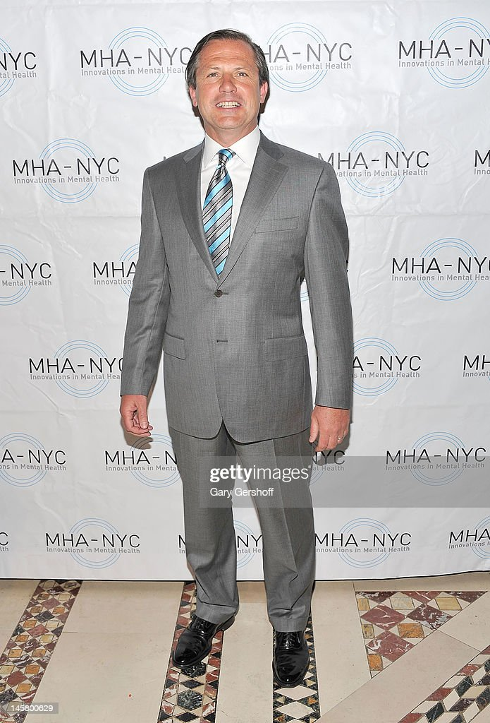 Chairman, MHA-NYC, Kevin Danehy attends the 2012 Mental Health Association Of New York City Celebration Of Hope Gala at Cipriani 42nd Street on June 5, 2012 in New York City.