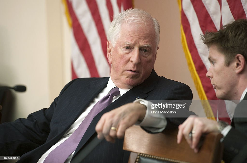 Chairman Mike Thompson, D-Calif., at a Congressional Gun Violence Prevention Task Forcehearing on the comprehensive steps that Congress can take to reduce gun violence - while also respecting the 2nd Amendment rights of law-abiding citizens.