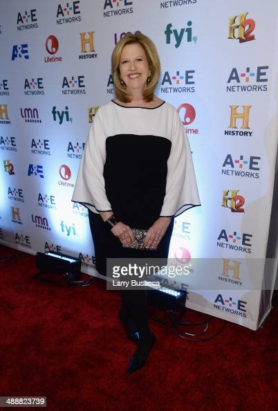 Chairman of AE Networks Abbe Raven attends the 2014 AE Networks Upfront on May 8 2014 in New York City