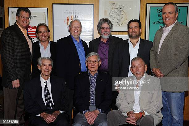 Chairman of BMG US Label Group Barry Weiss sound editor Louis Kleinman actor Richard Anderson sound editor David Stone sound editor Christian P...