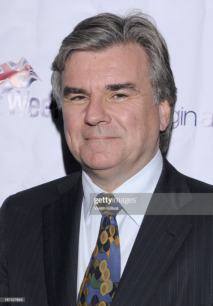Chairman of Britweek Bob Peirce attends 4th Annual BritWeek UKTI Business Innovation Awards at Four Seasons Hotel Los Angeles at Beverly Hills on April 24, 2013 in Beverly Hills, California.