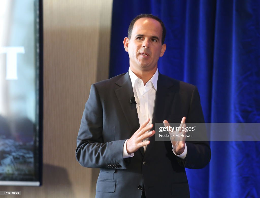 CEO & Chairman of Camping World and Good Sam Enterprises Marcus Lemonis speaks onstage during 'CNBC 'The Profit' Breakfast Session' at the NBC portion of the 2013 Summer Television Critics Association tour - Day 4 at the Beverly Hilton Hotel on July 27, 2013 in Beverly Hills, California.